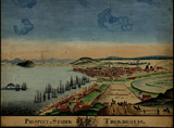 Kart over Trondheim 1813 (Ingressbilde)